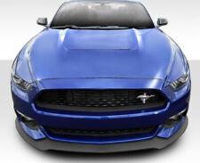 For Ford Mustang 15-19 Duraflex R-Spec Style Fiberglass Window Scoops Unpainted