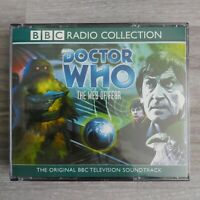 Doctor Who The Web of Fear 3 x CD Soundtrack BBC Radio Collection