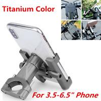1Pcs Adjustable Aluminum Alloy Phone GPS Mount Bracket For Motorcycle Handlebar