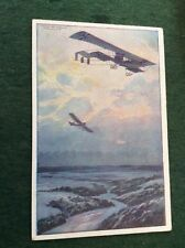 German Posted Printed Collectable Transportation Postcards