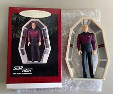 HALLMARK ORNAMENT OF CAPTAIN JEAN-LUC PICARD FROM STAR TREK THE NEXT GENERATION
