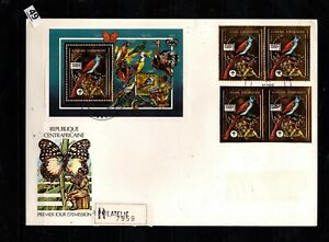 / CENTRAL AFRICAN REP 1990 - R-FDC - PERF+IMPERF - SCOUTS, BIRDS