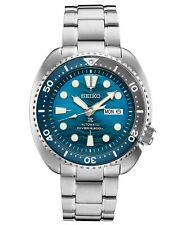 New Seiko SRPD21 Prospex Turtle Save The Ocean Blue Dial 45mm Case Watch