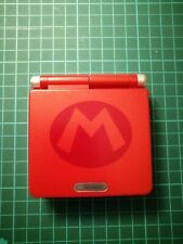 GameBoy Advance SP Backlit IPS V2 - Ags 101 GBA Mario Supplied by R&R.