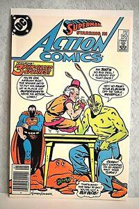 DC Action Comics #563 1985 1st App Ambush Bug, Origin Story