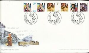 2008 Christmas, Pantomimes, Unaddressed FDC Excellent Condition