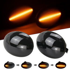 For BMW MINI Cooper R55 R56 R57 R58 Dynamic LED Side Repeater Light Indicator