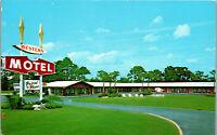 Western Motel Ocala Florida I-75 & U.S. 27 Vintage Postcard AA-003