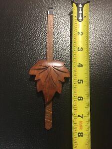 Cuckoo Clock Parts- Mediun Grape Leaf Pendulum  *ORIGINAL GERMANY* Top Quatity.