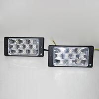 2 x LED Luci Fendinebbia 12v Auto per Mazda Rx-7 Mx-3 Rx-8 Mx-5 323 626 Bongo