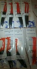 Eddystone Eel Fishing Lures (8) No.1 & (8) No. 2 & (2) No. 3  GRAB BAG