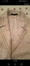 Gold Tweed Sisley Jacket Xs (6)