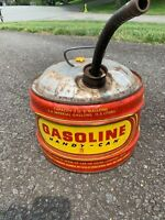 Vintage LIBERTY HANDY CAN metal 3 GALLON GAS CAN w/ spout MADE IN USA