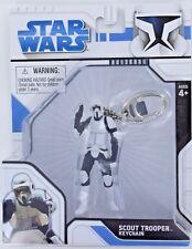 Star Wars SCOUT TROOPER Keychain Keyring Imperial Soldier Lucas Retired S3 NIB