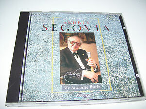 Andres Segovia - A Portrait Of My Favourite Works  * UK CD 1987 *