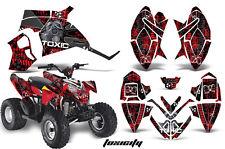 Polaris Outlaw 90 Quad Graphics Decal Sticker Kit ATV Outlaw Parts TOXICITY