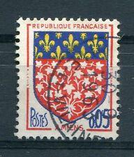 FRANCE 1962, timbre 1352, ARMOIRIES AMIENS, oblitéré