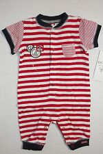 GUESS BABY BOYS RED OVERALL SUIT GUESS LOGO SIZE 3-6 MONTH NEW WITH TAG