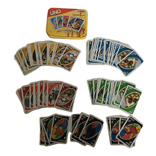 UNO Family Card Game Disney Theme Park Edition Disneyland Attractions Characters