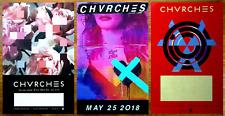 CHVRCHES Love Is Dead | Every Open Eye | Bones Believe Ltd Ed RARE 3 Posters Lot