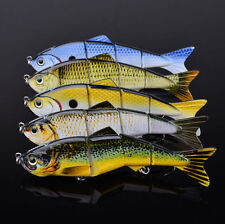 5pcs/Lot Fishing Lure Jointed Lures 4 Sections Swimbait Baits Tackle 19g 12.7cm