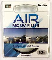 Kenko Air Slim MC UV Filter Multi-Coated Ultraviolet Camera Lens Filter 52mm