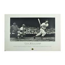 Ted Williams Boston Red Sox Triple Crown Lithograph /12000 (Lot of 25)