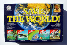SAVE THE WORLD BOARD GAME by CROWN & ANDREWS UK 1989