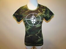 PUBLIC ENEMY - REBIRTH OF A NATION CAMOUFLAGE Women's T-SHIRT