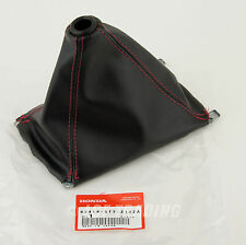 Authentic JDM Honda Integra Type-R DC2 OEM Red Stitch Shift Boot 83414-ST7-Z10ZA