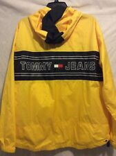 Vintage Tommy Hilfiger Windbreaker Jacket Yellow tommy jeans M