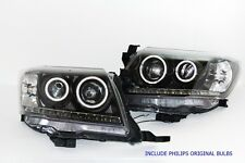 11-15 TOYOTA PICKUP HILUX VIGO CHAMP KUN MK7 SR KUN CCFL ANGEL EYE HEAD LAMP BLK