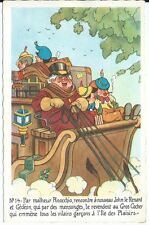 CPA - Carte Postale - WALT DISNEY - Edition Superluxe Pinocchio N°14 - Postcard