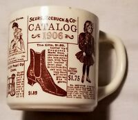 Vintage Sears Catalog Coffee Mug Cup 1906 Copy