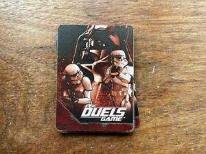 Star Wars Epic Duels Game Replacement Cards Darth Vader/Storm Troopers COMPLETE