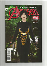 UNCANNY AVENGERS (V3) #1 Limited to 1 for 15 Wasp cosplay variant! NM