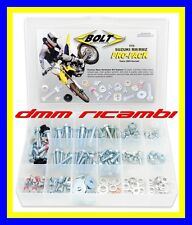 Kit Bulloneria BOLT completo SUZUKI RM RMZ 125 250 450 CROSS ENDURO MOTARD