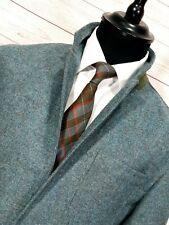"⭐ mens Yorkshire Tweed luxury Moon fabric wool country blazer jacket size XL 42"""