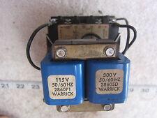Warrick Controls Gems 1D1D0 115/300V 1NC 1NO Control Relay, Used