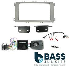 CTKFD25 Silver Double DIN Fascia Car CD Stereo Fitting Kit for Ford S-max 2007