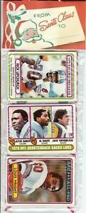 1980 Topps Football Holiday Christmas Rack Pack Rookies RC Stars HOF???