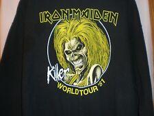 Iron Maiden SWEATSHIRT Killer World Tour 1981 XXLARGE