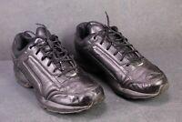 SB246 Reebok Vintage Dad Sneaker Gr. 40,5 Sportschuhe Leder schwarz