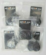 5x Genuine Oem Victor Vct7010 Calculator Ribbons Black Red Ink Ribbon