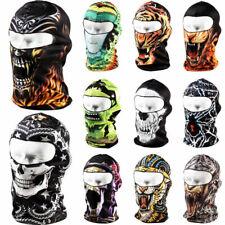 Summer Thin 3D Skull Face Mask Cycling Motorcycle Balaclava Neck Hood Head Wrap
