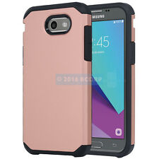SAMSUNG GALAXY EXPRESS AMP PRIME 2 ROSE GOLD BLK ASTRO CASE IMPACT RUGGED COVER