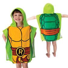 Teenage Mutant Ninja Turtles Hooded Poncho Towel Bath Pool Beach Cotton Towel NW