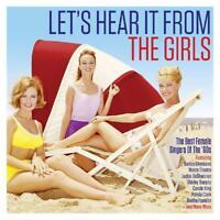Lets Hear it From The Girls 2 CD Set Carole King Little Eva Nancy Sinatra