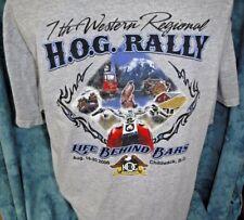 Harley Davidson Chilliwack B. C. Canada HOG Rally Life Behind Bars Large Gray