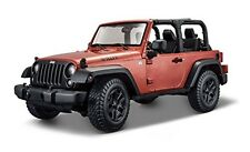 Maisto 2014 Jeep Wrangler No Top Diecast Vehicle (1:18 Scale)